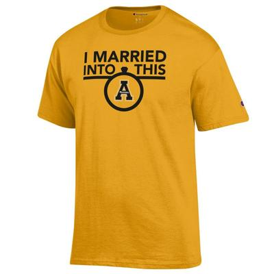 Appalachian State Champion I Married Into This Tee