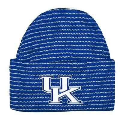 Kentucky Baby Knit Striped Cap