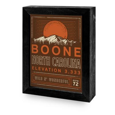 Legacy Boone Wood Boxed Heights Art