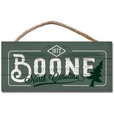 Legacy Boone Railway Wood Plank Hanging Sign