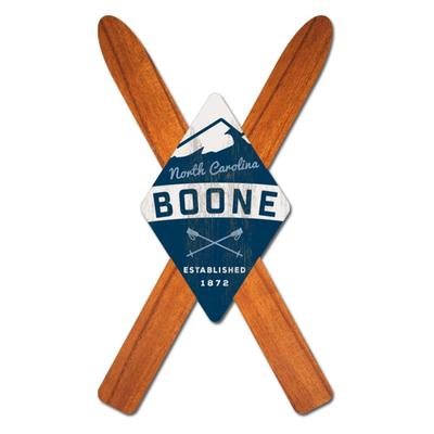 Legacy Boone Cross Ski Magnet
