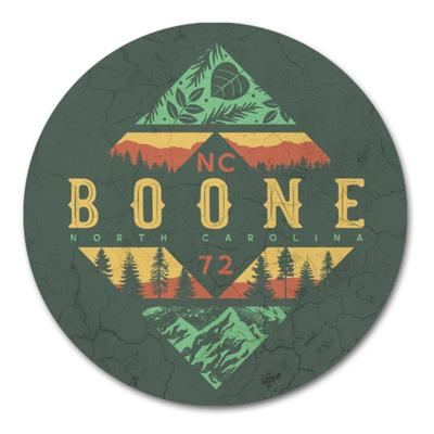 Legacy Boone Circle Diamond Layers Coaster