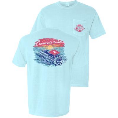 Alabama Cruisin' Boat Short Sleeve Comfort Colors Tee