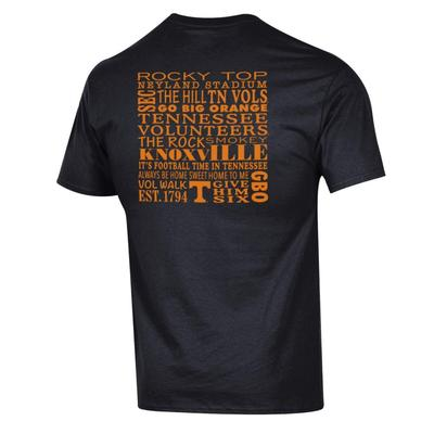 Tennessee Champion Men's Wordy Tee