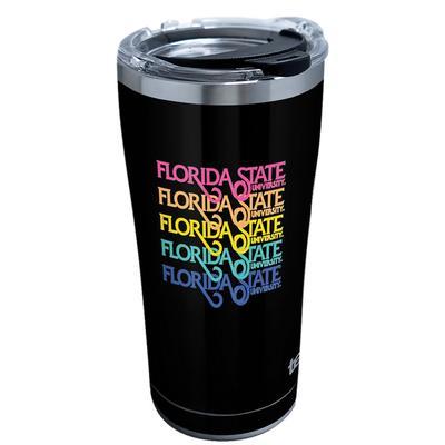 Florida State Spring Break Rainbow 20 oz Tervis Tumbler