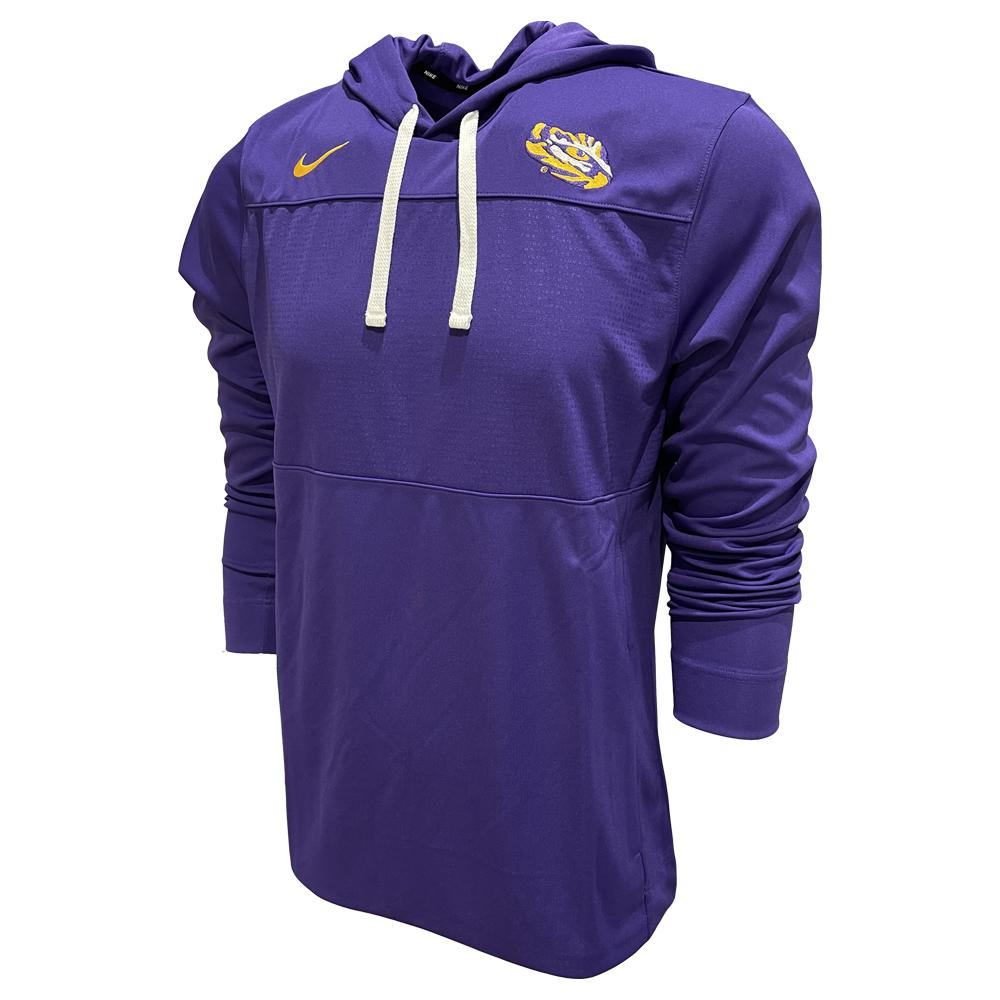 Lsu Nike Men's Lightweight Hoody