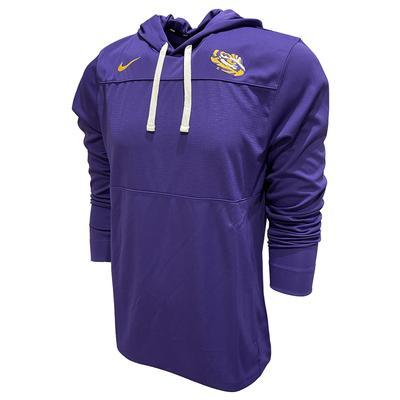 LSU Nike Men's Lightweight Hoody