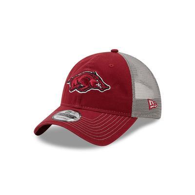 Arkansas New Era 9Twenty Adjustable Trucker Hat