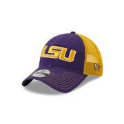 Lsu New Era 9twenty Adjustable Trucker Hat