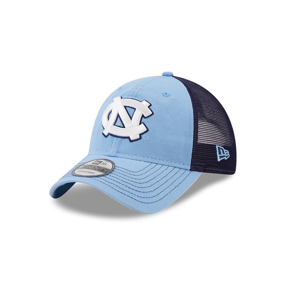 Unc New Era 9twenty Adjustable Trucker Hat