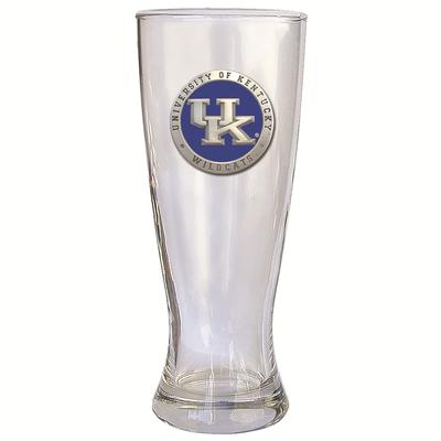 Kentucky Heritage Pewter Blue Emblem Pilsner