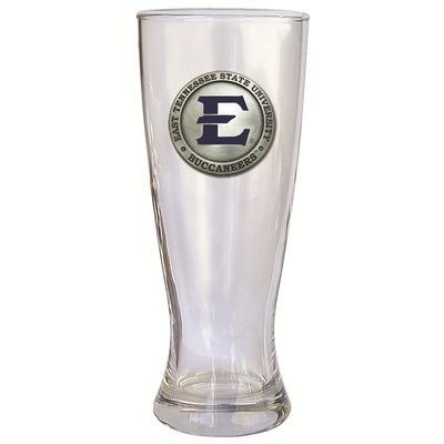 ETSU Heritage Pewter Blue Emblem Pilsner