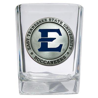 ETSU Heritage Pewter Emblem Shot Glass