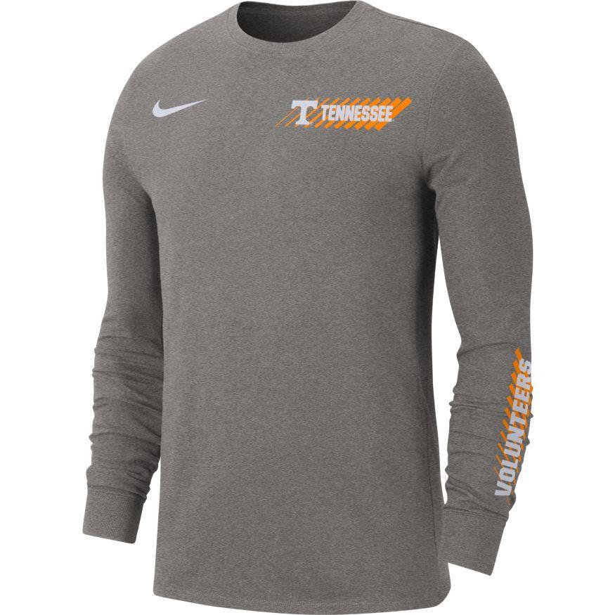 Tennessee Vols Nike Dri- Fit Long Sleeve T- Shirt