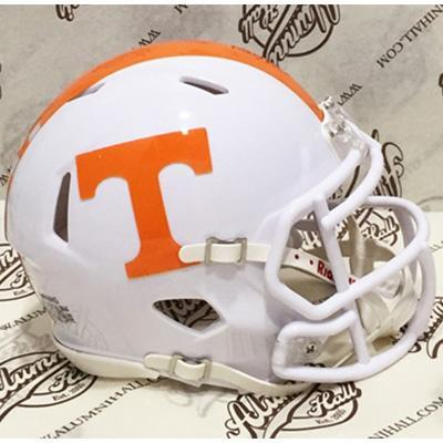 Tennessee Volunteers Mini Replica Checkerboard Stripe Helmet
