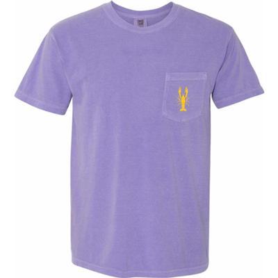 LSU Bayou Dan Men's Crawfish Comfort Colors Short Sleeve Tee