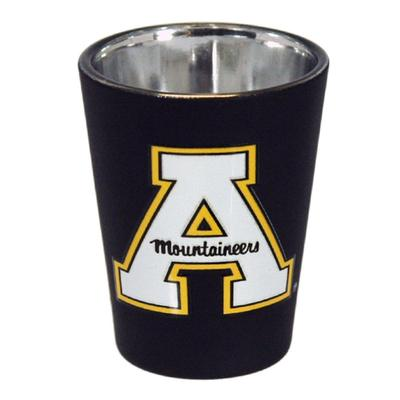 Appalachian State Matte Black Shot Glass