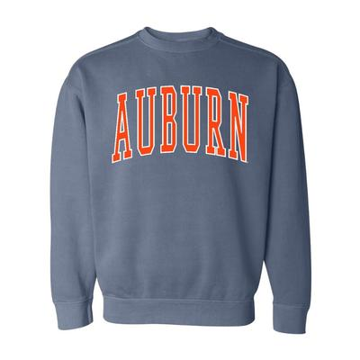 Auburn Summit Big Arch Comfort Colors Crew