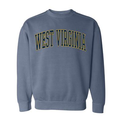 West Virginia Summit Big Arch Comfort Colors Crew
