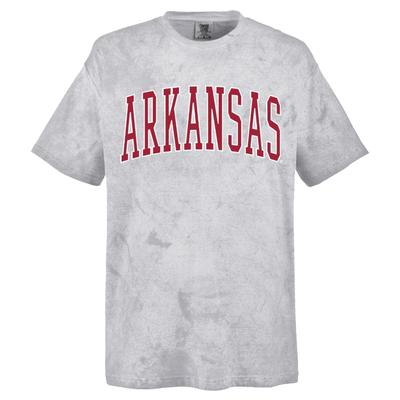 Arkansas Summit Colorblast Arch Short Sleeve Tee