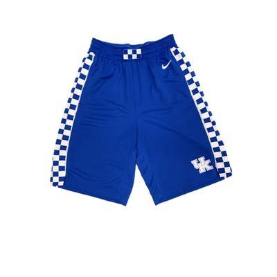 Kentucky YOUTH Nike Blue Basketball Shorts