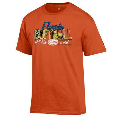 Florida Champion Sunflower Softball Tee