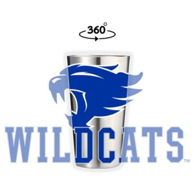 Kentucky Wildcat 16 oz Pint Tumbler