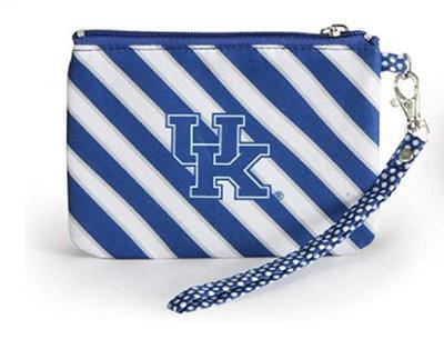 Kentucky Striped Wristlet/ID Holder
