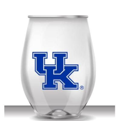 Kentucky 16 oz UK Logo Acrylic Wine Glass