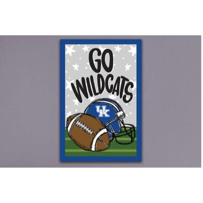 Kentucky Magnolia Lane Go Wildcats Garden Flag