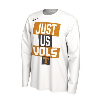 Tennessee Nike Men's 2021 Just Us Bench Long Sleeve Shirt