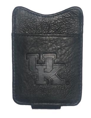 Kentucky Leather Money Clip