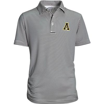 Appalachian State YOUTH Stripe Polo