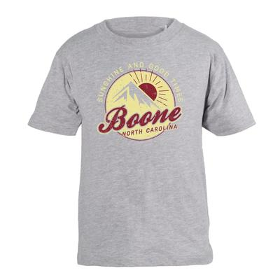 Boone YOUTH Cotton Sun and Good Times Tee