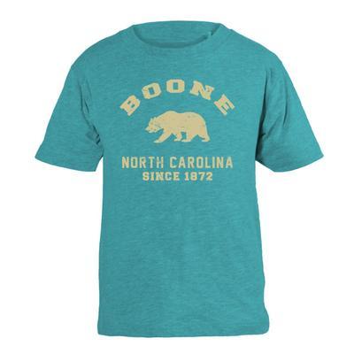 Boone YOUTH Bear Arch Short Sleeve Tee