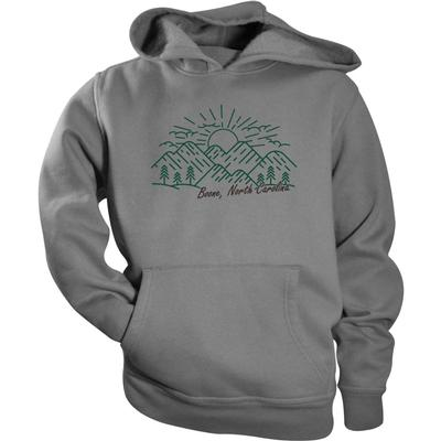 Boone Toddler Mountain Sketch Fleece Hoodie