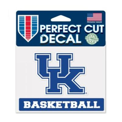 Kentucky Basketball Decal 3 X 4