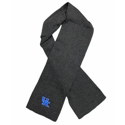 Kentucky 60 in Long Frosty Knit Scarf