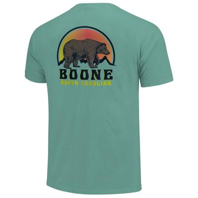 Boone Wildlife Gradient Sunset Short Sleeve Comfort Colors Tee