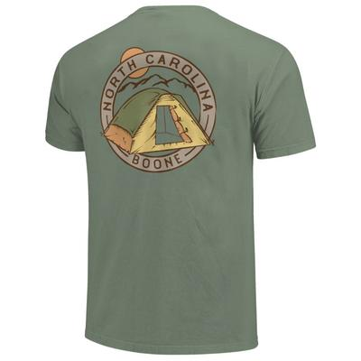 Boone Tent Circle Short Sleeve Comfort Colors Tee
