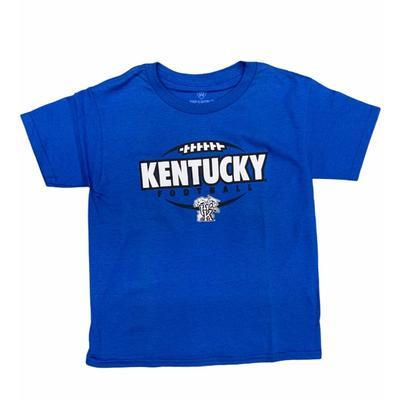 Kentucky YOUTH Football Outline Tee