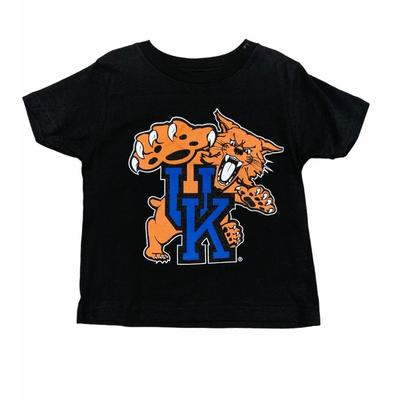 Kentucky Gen2 Toddler Standing Wildcat Logo Tee