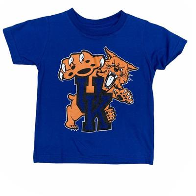 Kentucky Gen2 Toddler Standing Wildcat Logo Tee
