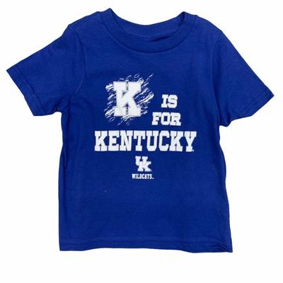 Kentucky Gen2 Toddler K is for Kentucky Tee
