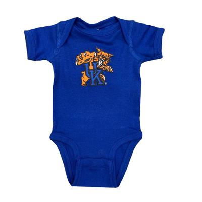 Kentucky Infant Wildcat Logo Onesie