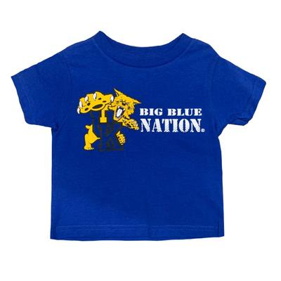 Kentucky Toddler Big Blue Nation Tee