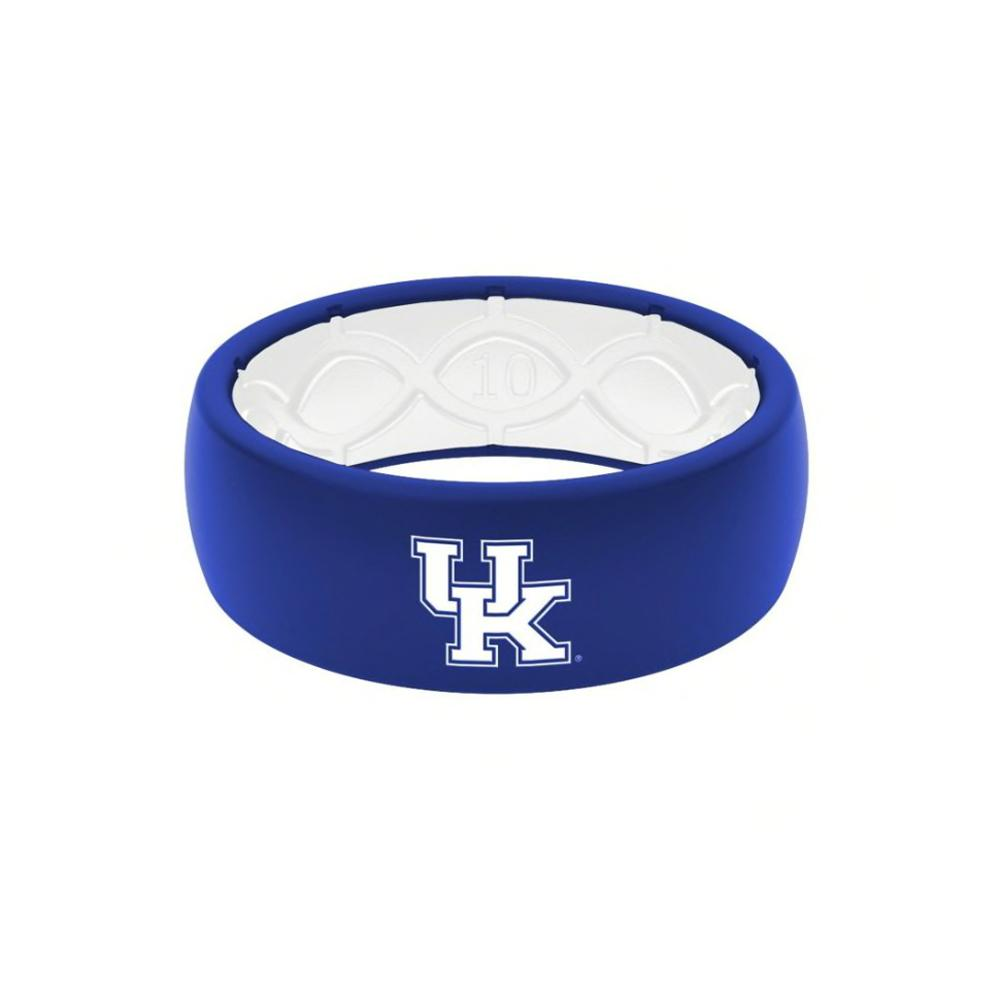 Kentucky Groove Ring Blue With White Uk Logo