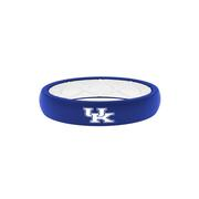 Kentucky Groove Ring Thin Blue With White Uk Logo