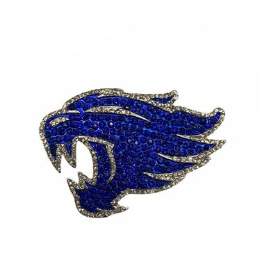 Kentucky Seasons Design Wildcat Crystal Logo Pin