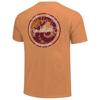 Virginia Tech Comfort Colors Script State T-Shirt